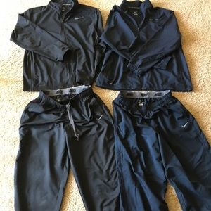 Lot of 2 XXL NIKE Dri-fit track suits